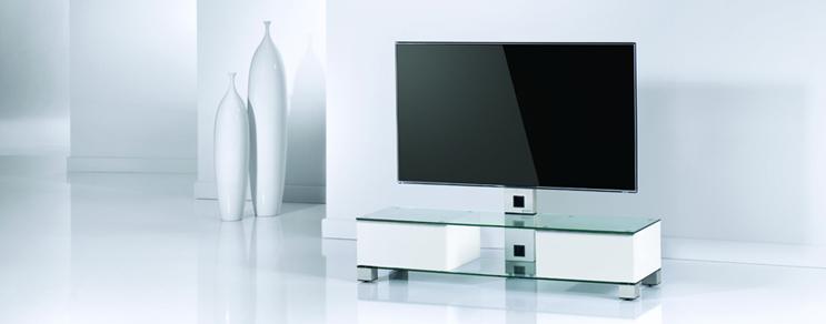 TV Möbel Holz U0026 Glas U0026 Metall